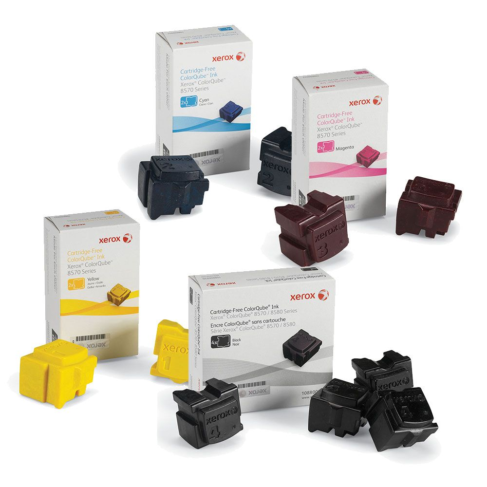 ColorQube 8570 | 108R00926 108R00927 108R00928 108R00930 | Original Xerox Ink Cartridge Set – Black, Color