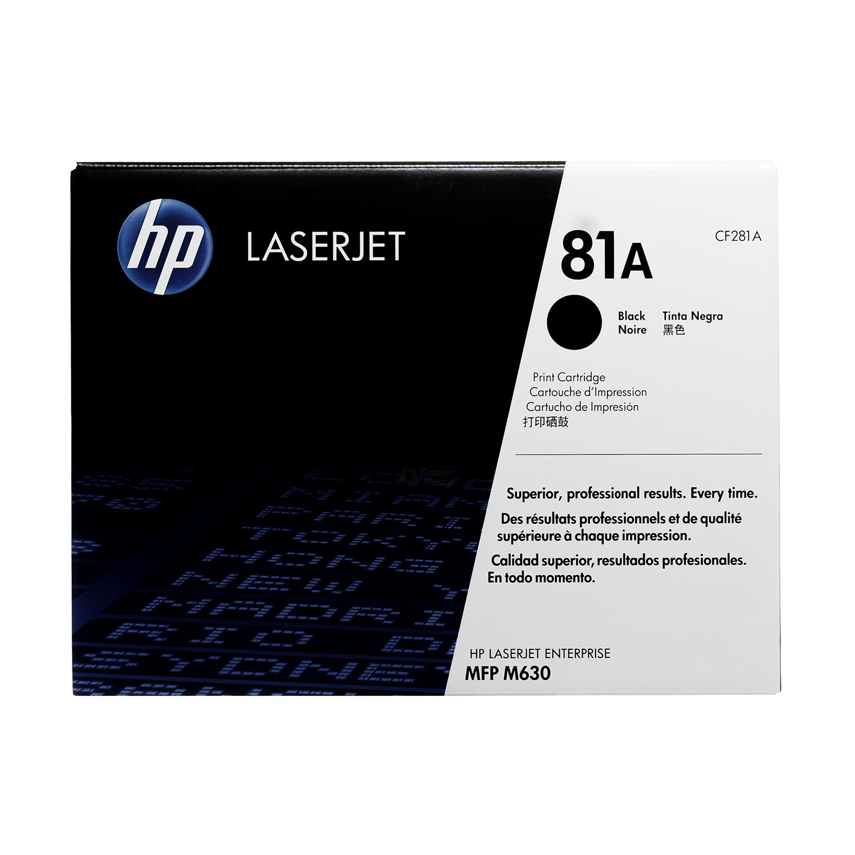 CF281A | HP 81A | Original HP LaserJet Toner Cartridge  - Black