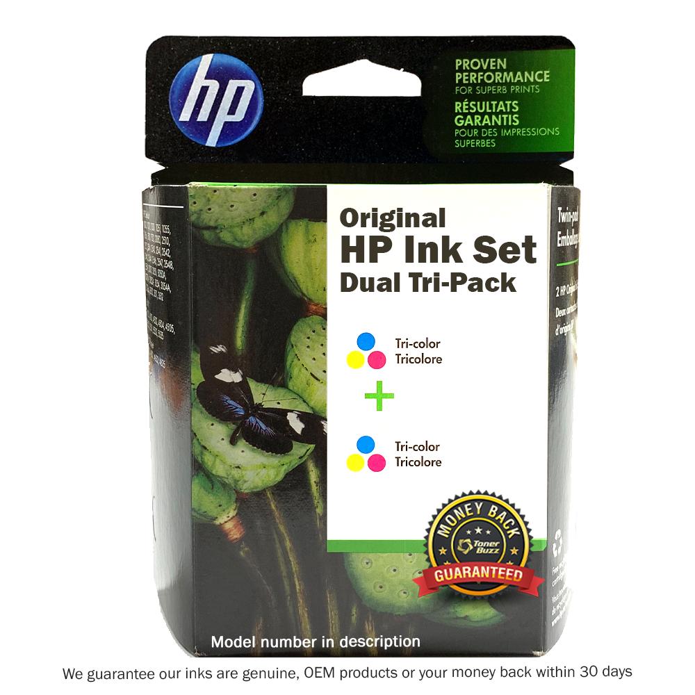 CZ074FN | HP 61 | Original HP Ink Cartridges - Tri-Color