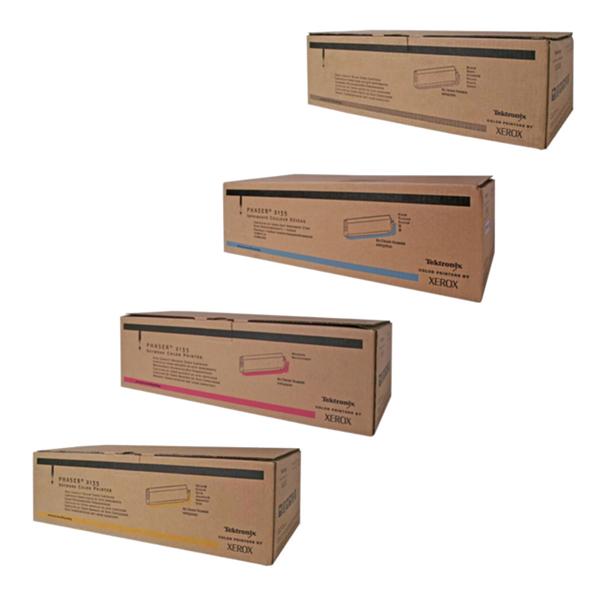Phaser 2135HY | 016-1917-00 016- 1918 - 00 016 - 1919 - 00 016 - 1920 - 00 | Original Xerox High-Yield Toner Cartridge Set – Black, Color