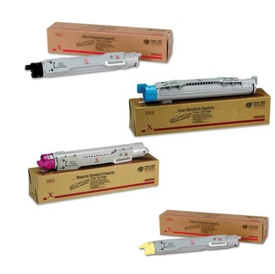 Phaser 6250 | 106R00668 106R00669 106R00670 106R00671 | Original Xerox Toner Cartridge Set – Black, Color