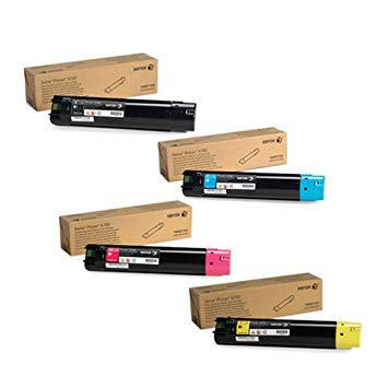 Phaser 6700   106R01503 106R01504 106R01505 106R01506   Original Xerox Toner Cartridge Set – Black, Color