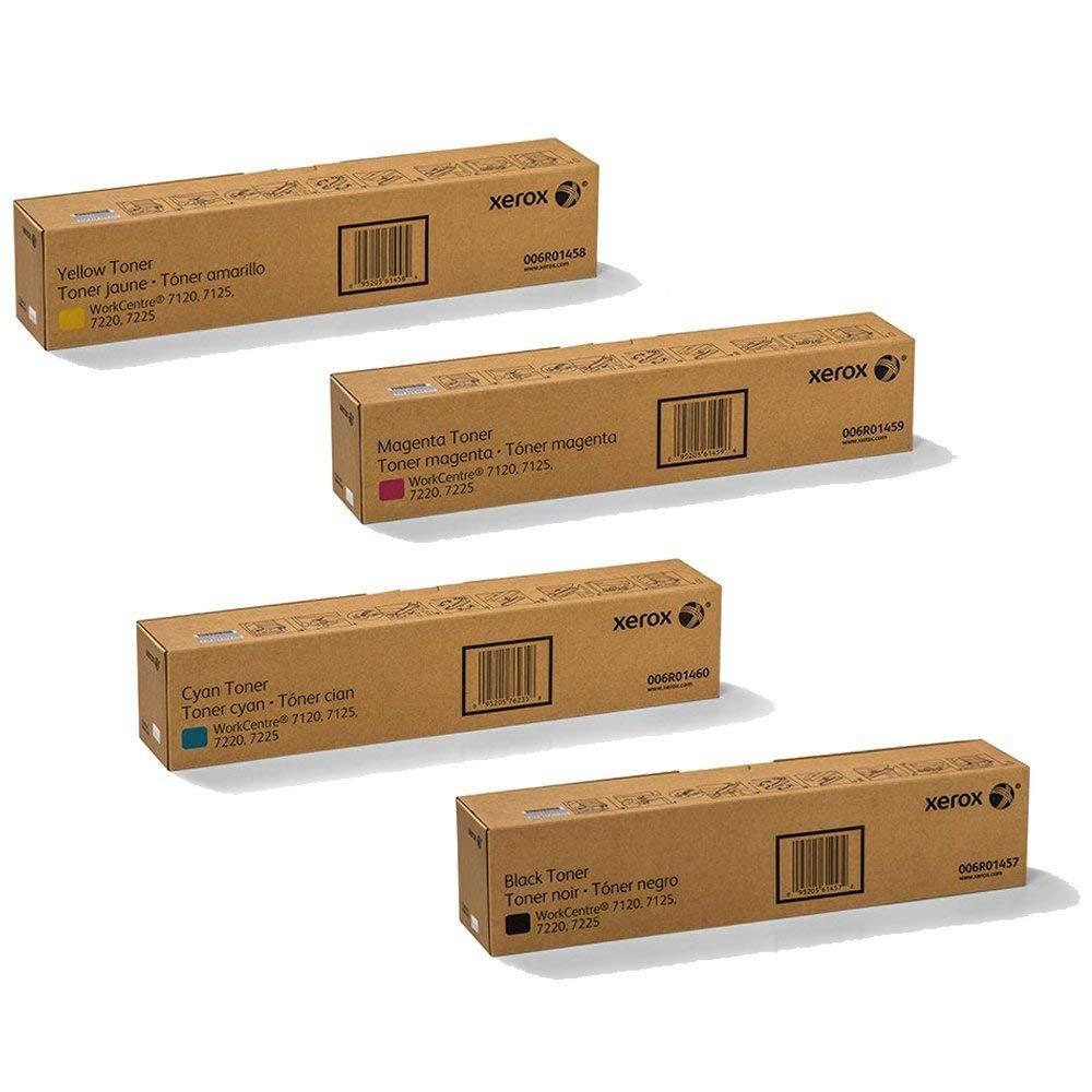 WorkCentre 7120   Original Xerox 006R01457 006R01458 006R01459 006R01460 Toner Cartridge Set - CMYK