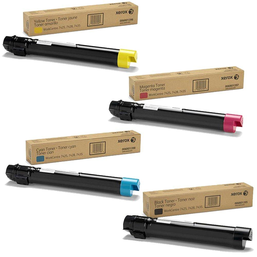 WorkCentre 7425 | 006R01395 006R01396 006R01397 006R01398 | Original Xerox Toner Cartridge Set – Black, Color