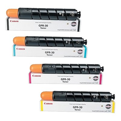 Canon GPR-30 CYMK Set   2789B003AA 2793B003AA 2797B003AA 2801B003AA   Original Canon Toner Cartridge Set - Black, Cyan, Magenta, Yellow