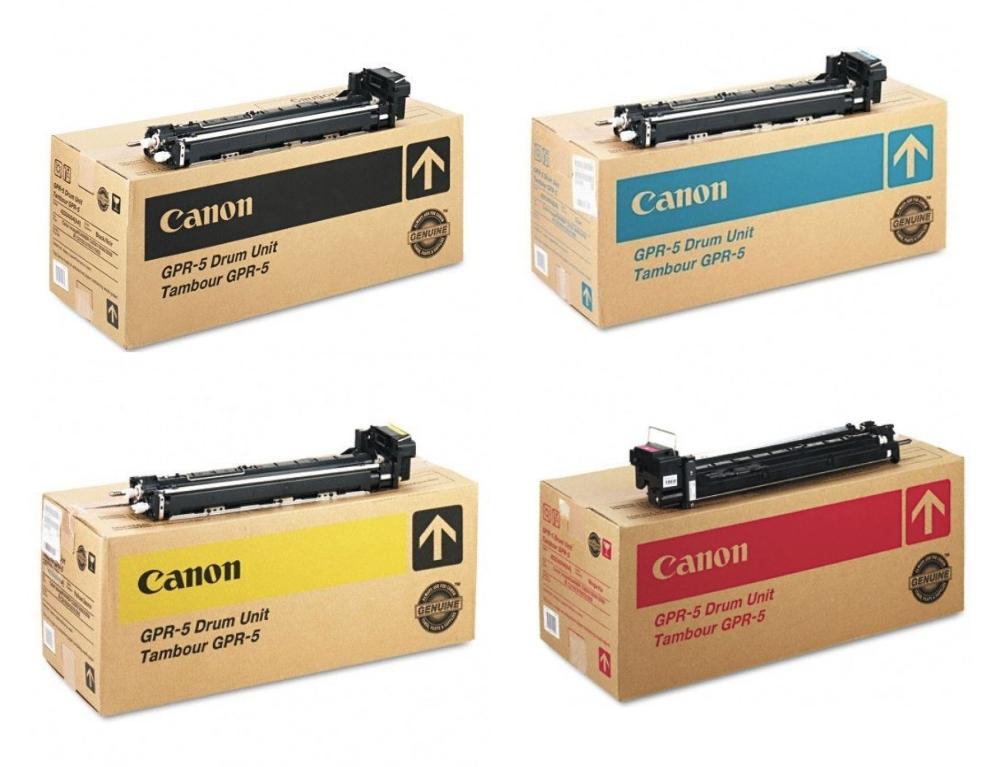 GPR-5 Drum   Original Canon Drum Unit Set - Black, Cyan, Magenta, Yellow