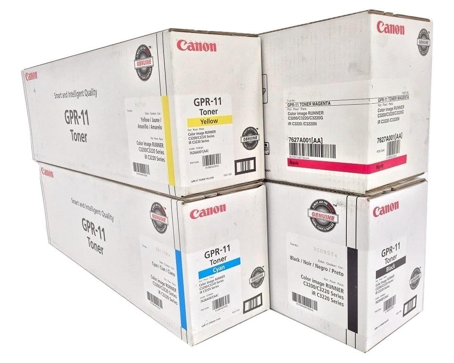 Canon GPR-11 CYMK Set   Original Canon Toner Cartridge Set - Black, Cyan, Magenta, Yellow
