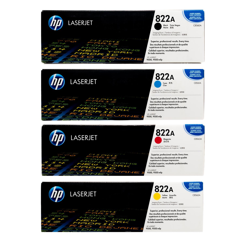 HP 822A Drum SET | C8560A C8561A C8562A C8563A | Original HP Toner Cartridge - Black, Cyan, Yellow, Magenta