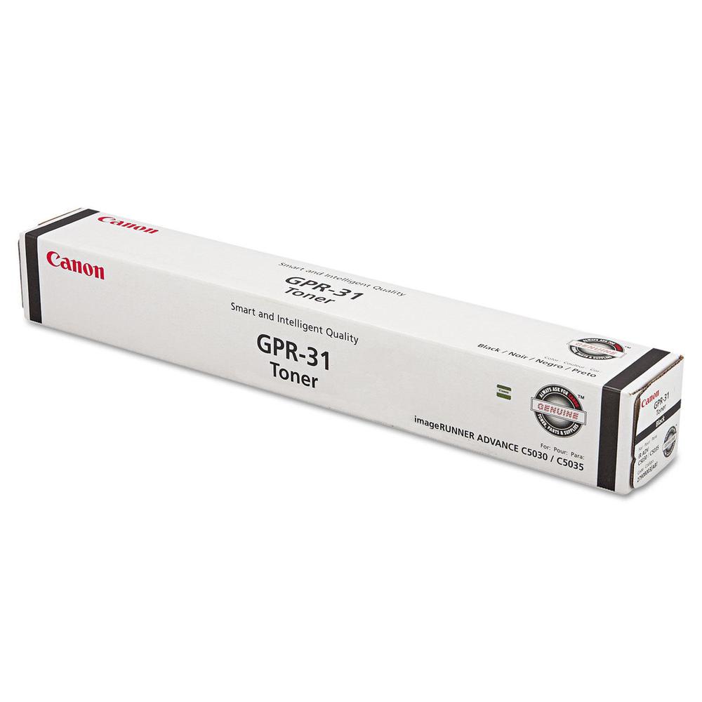 OEM Canon GPR-31 2790B003AA Black Toner Cartridge