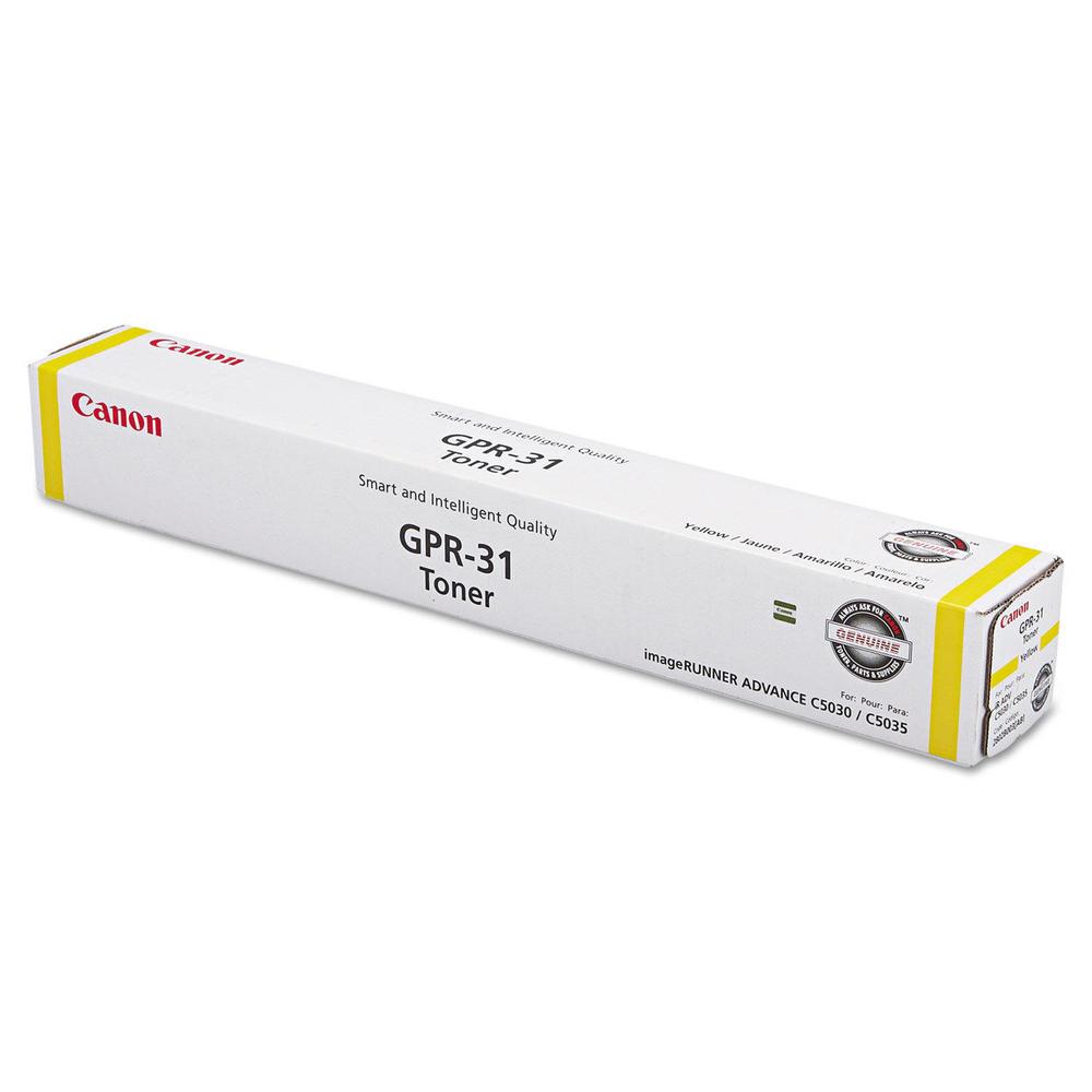 Canon GPR-31 2802B003AA Yellow Toner Cartridge