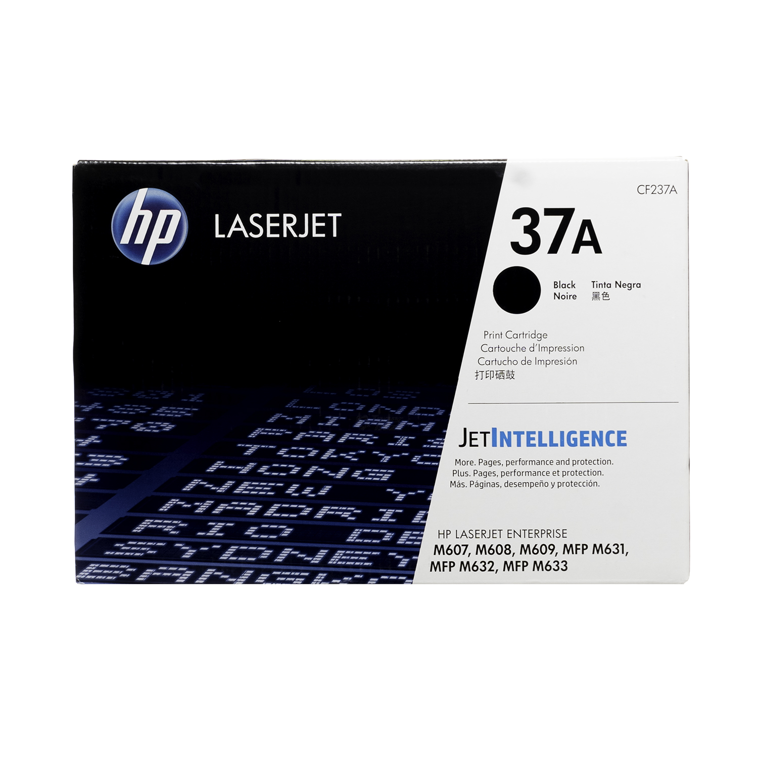 CF237A | HP 37A | Original HP LaserJet Toner Cartridge - Black