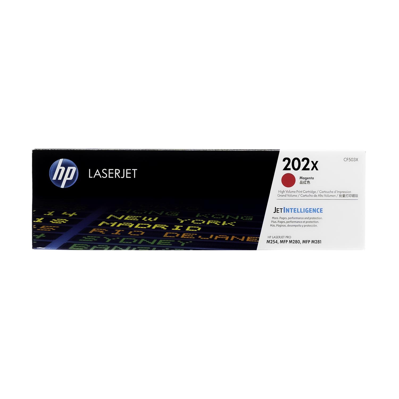 CF503X | HP 202X | Original HP High-Yield Toner Cartridge - Magenta
