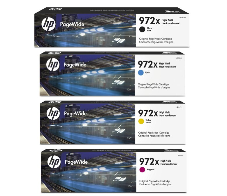 HP 972X SET | Original HP Ink Cartridge - Black, Cyan, Yellow, Magenta