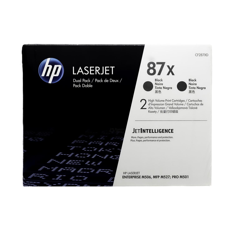 CF287XD | HP 87X | Original HP High-Yield LaserJet Toner Cartridges - Black