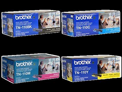 TN-110 Set | Original Brother Toner Cartridges – Black, Colors