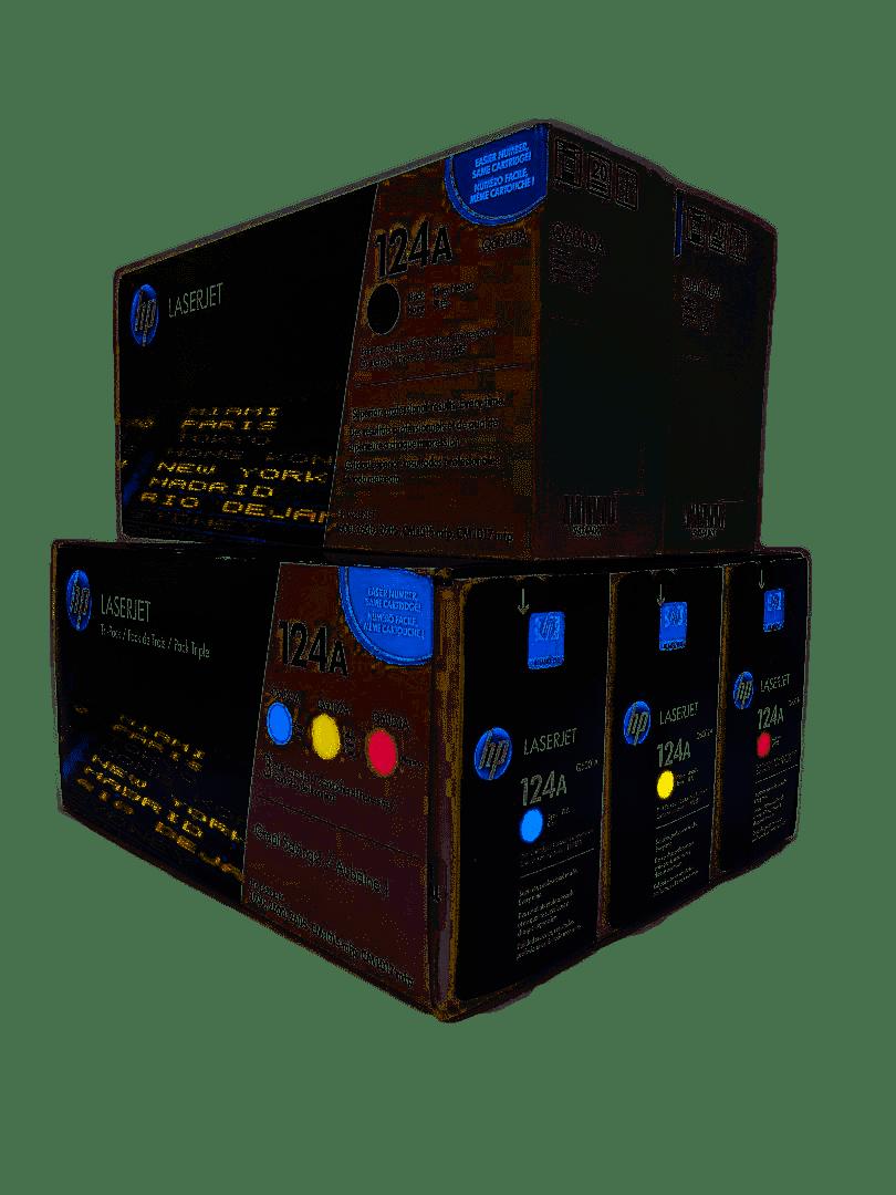 HP Q6000AD CE257A SET | Original HP Toner Cartridge - Black, Cyan, Yellow, Magenta