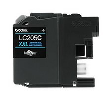 Original Brother LC205C LC-205C Ink Cartridge