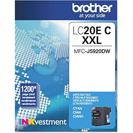 LC-20 | Original Brother Extra High-Yield Ink Cartridge – Cyan