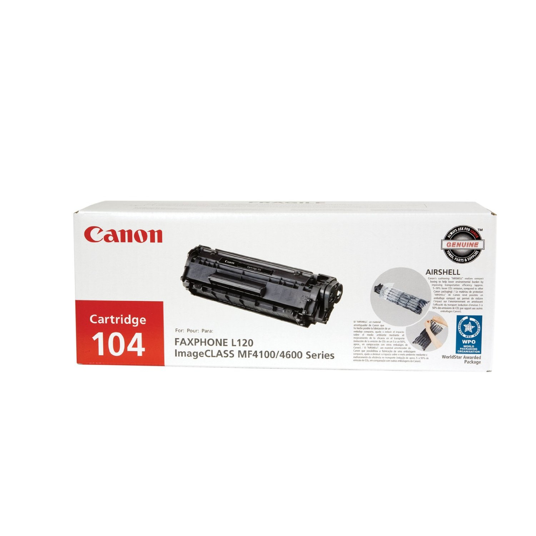 0263B001BA   Canon 104   Original Canon Toner Cartridge - Black