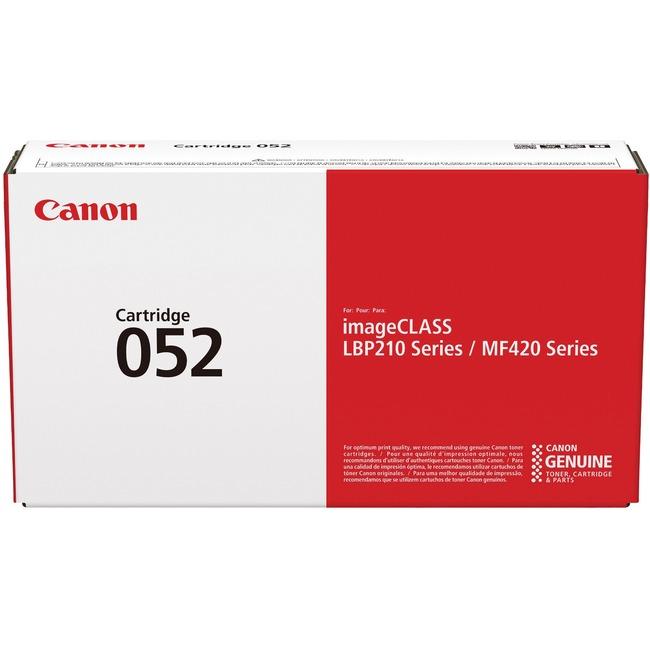2199C001AA | Canon 052 | Original Canon Toner Cartridge - Black