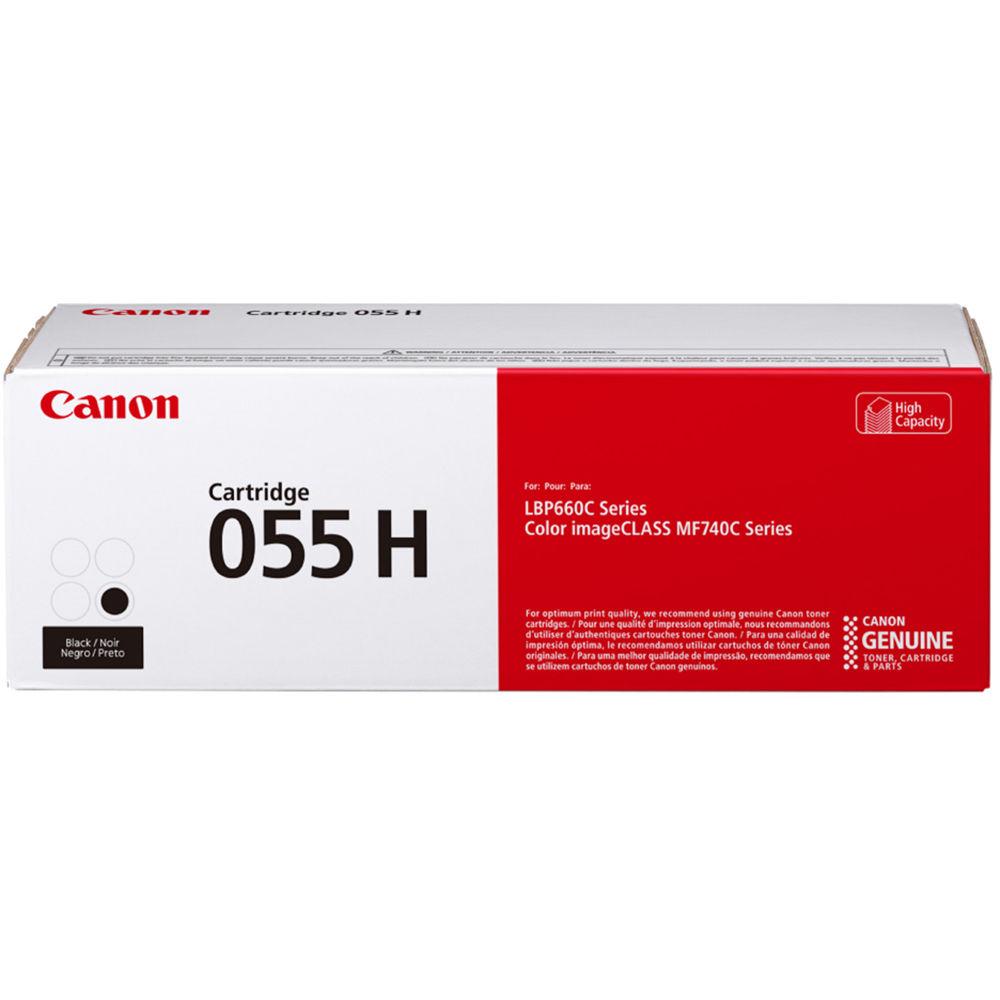 3020C001   Canon 055H   Original Canon High-Yield Toner Cartridge - Black