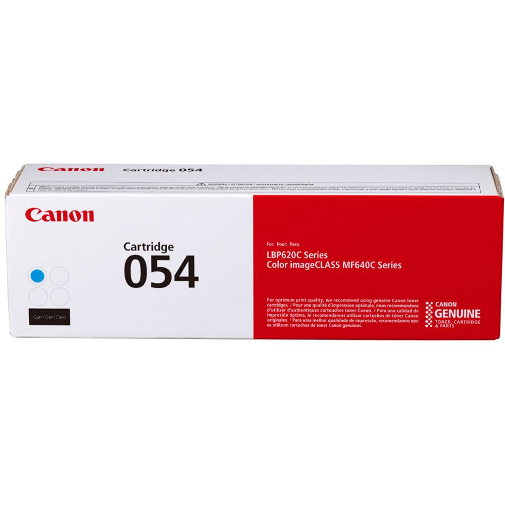3023C001   Canon 054   Original Canon Laser Toner Cartridge - Cyan