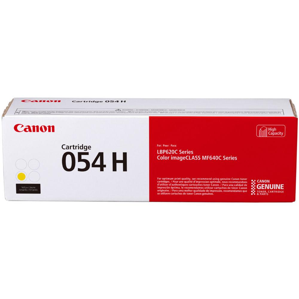 3025C001 | Canon 054H | Original Canon High-Yield Laser Toner Cartridge - Yellow