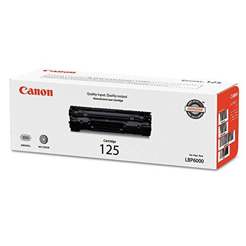 3484B001   Canon 125   Original Canon Toner Cartridge - Black