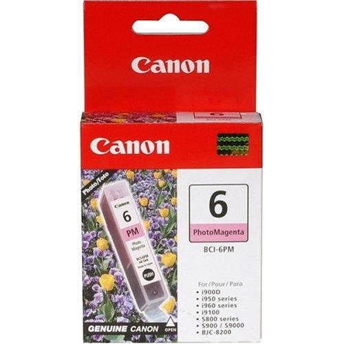 4710A003   Canon BCI-6   Original Canon Ink Cartridge - Photo Magenta