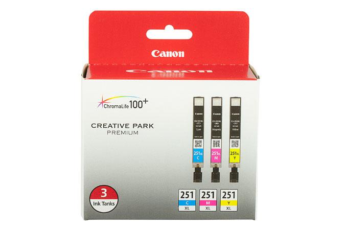 6449B009   Original Canon Ink Cartridge Combo Pack - Cyan, Magenta, Yellow