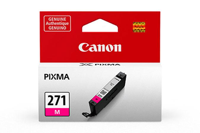 0392C001   Canon CLI-271   Original Canon Ink Cartridge - Magenta