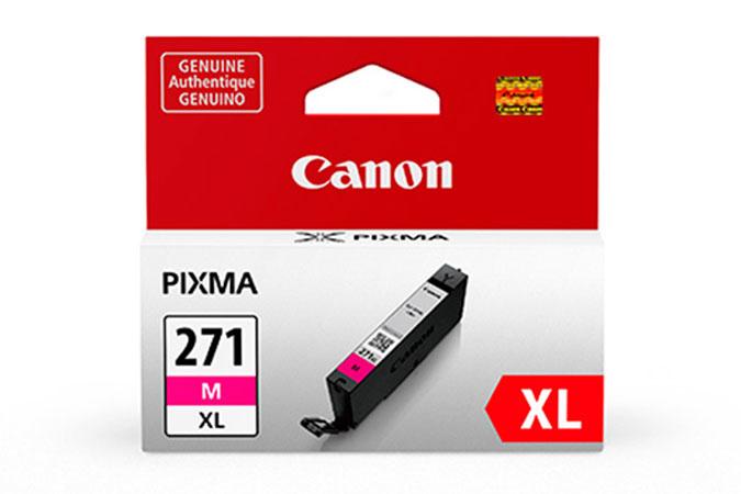 0338C001 | Canon CLI-271 XL | Original Canon High-Yield Ink Cartridge - Magenta