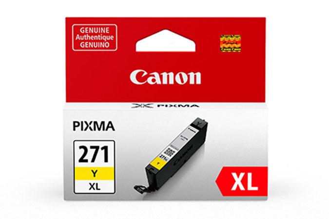 0339C001   Canon CLI-271XL   Original Canon Ink Cartridge - Yellow