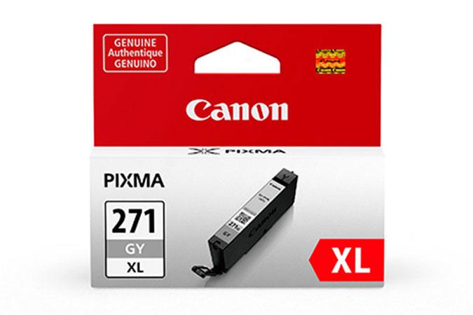 0340C001   Canon CLI-271XL   Original Canon Ink Cartridge - Grey