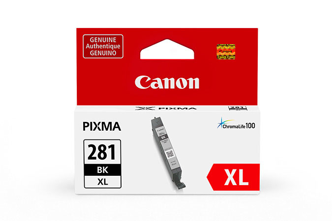 2037C001   Canon CLI-281XL   Original Canon High-Yield Ink Cartridge - Black