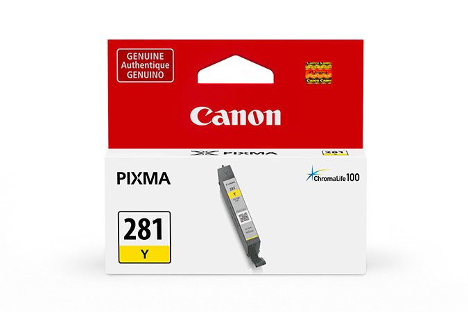 2090C001 | Canon CLI-281 | Original Canon Ink Cartridge - Yellow