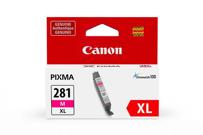 2035C001   Canon CLI-281XL   Original Canon High-Yield Ink Cartridge - Magenta