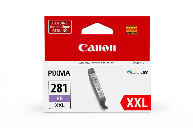 1984C001 | Canon CLI-281XXL | Original Canon Super High-Yield Ink Cartridge - Photo Blue