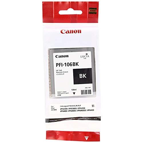 6621B001AA | Canon PFI-106 | Original Canon Ink Cartridge - Black
