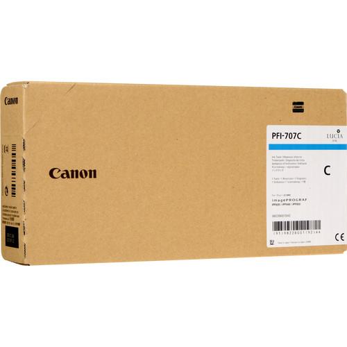 9822B001AA | PFI-707 | Original Canon Ink Cartridge – Cyan