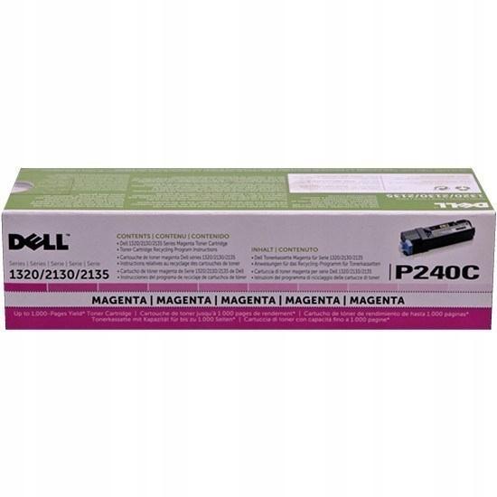 P240C | Original Dell Toner Cartridge – Magenta