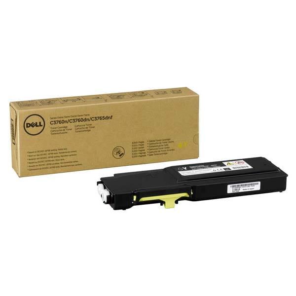 V0PNK   Original Dell Toner Cartridge – Yellow