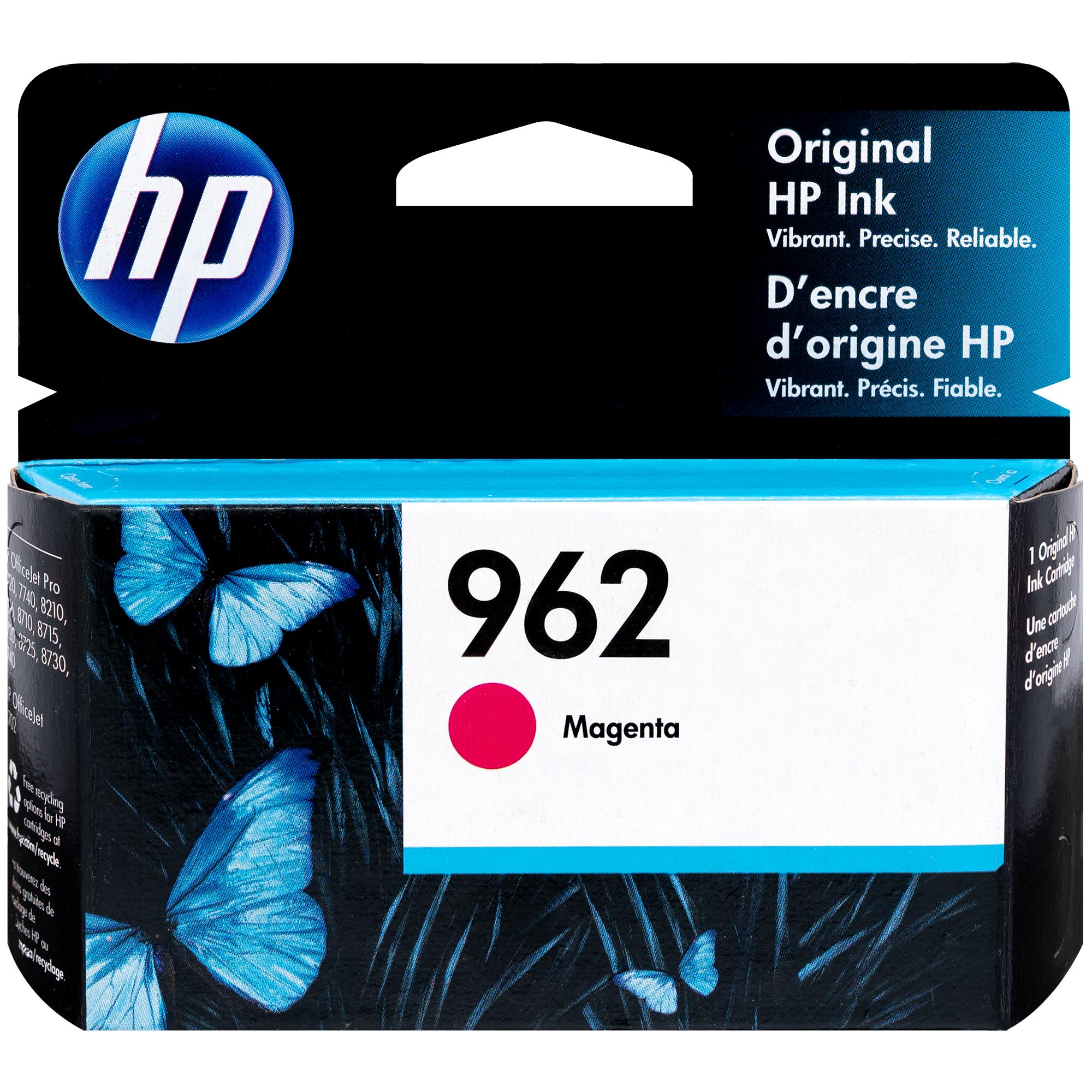 3HZ97AN   HP 962   Original HP Ink Cartridge - Magenta
