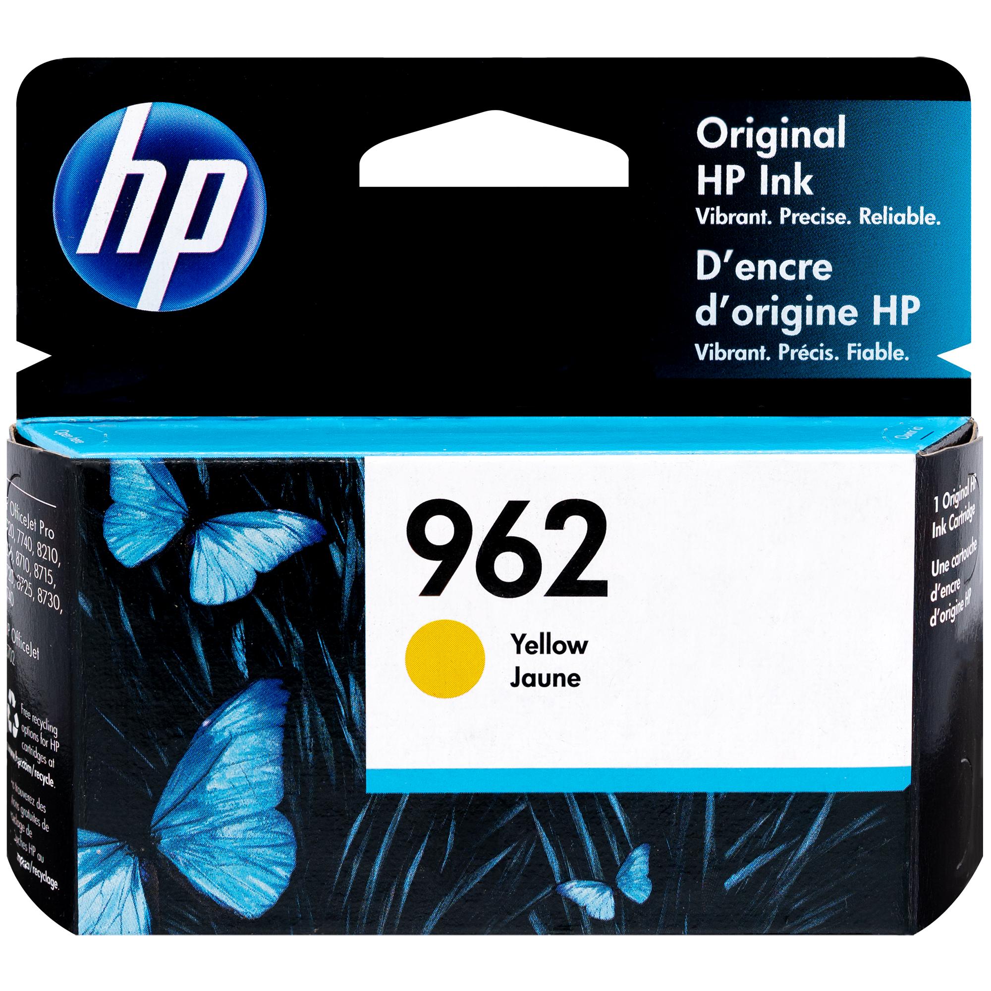 3HZ98AN   HP 962   Original HP Ink Cartridge - Yellow