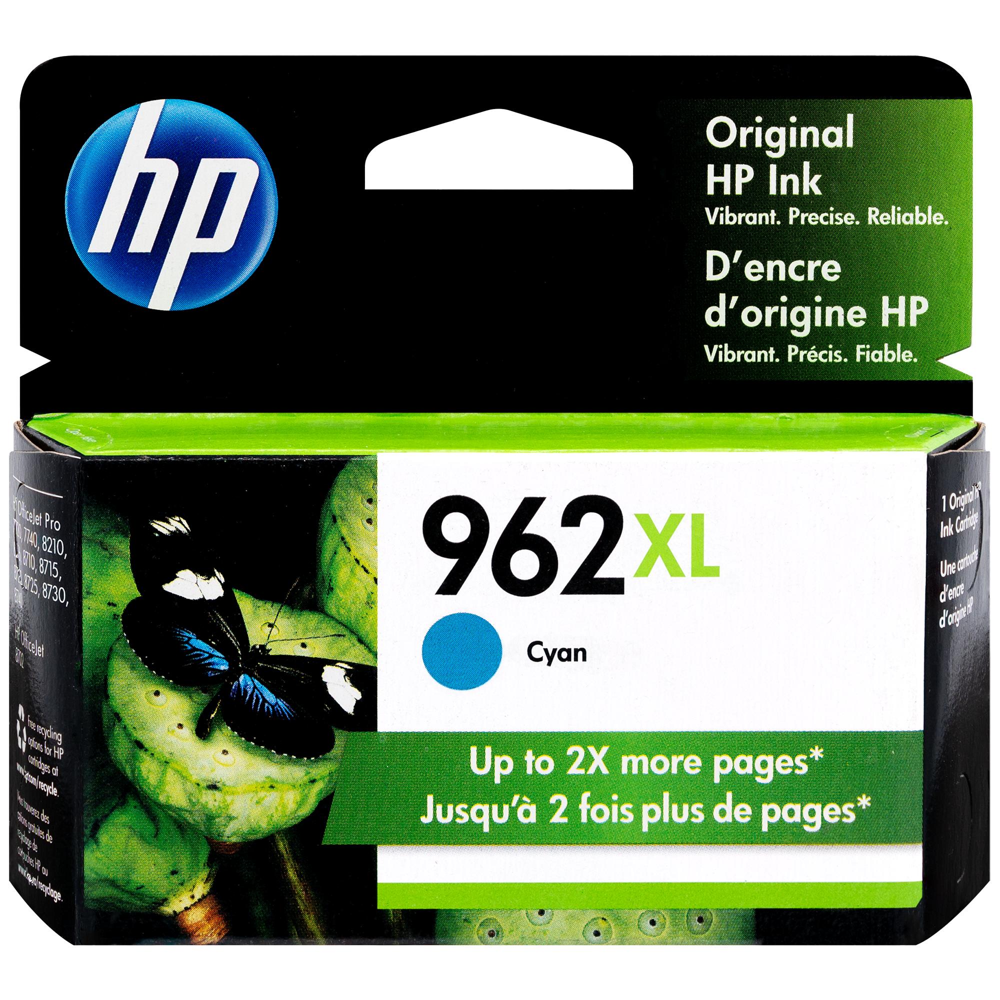 3JA00AN | HP 962XL | Original HP Ink Cartridge - Cyan