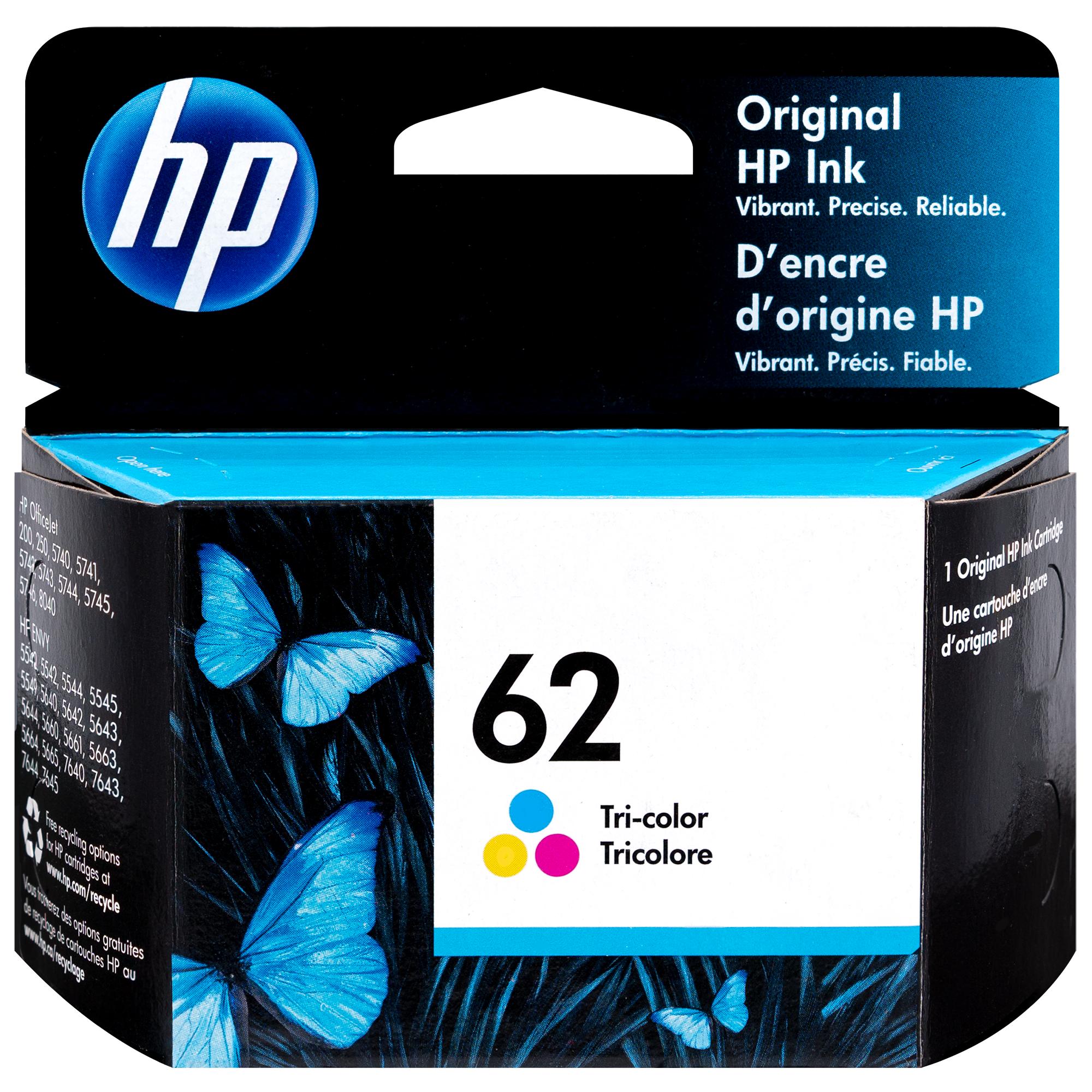 C2P06AN   HP 62   Original HP Ink Cartridge - Tri-Color