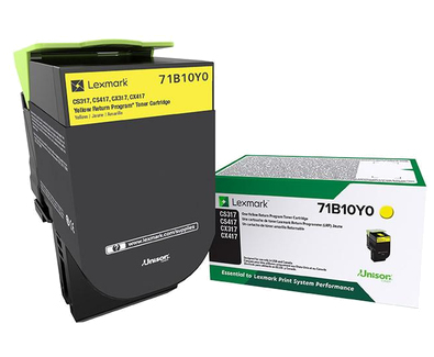 71B10Y0 | Original Lexmark Toner Cartridge – Yellow