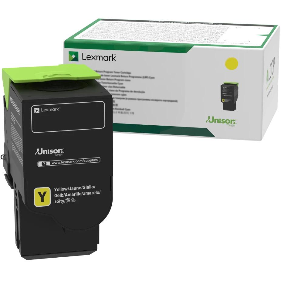 78C1UY0   Original Lexmark Toner Cartridge – Yellow