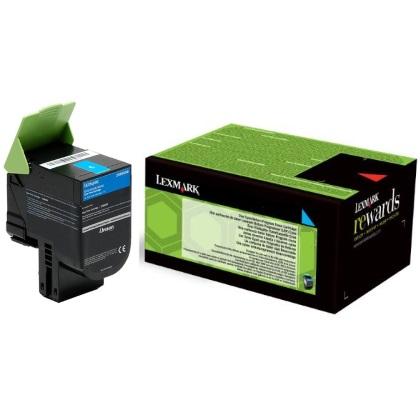 24B6008 | Original Lexmark Genuine OEM Toner Cartridge - Cyan