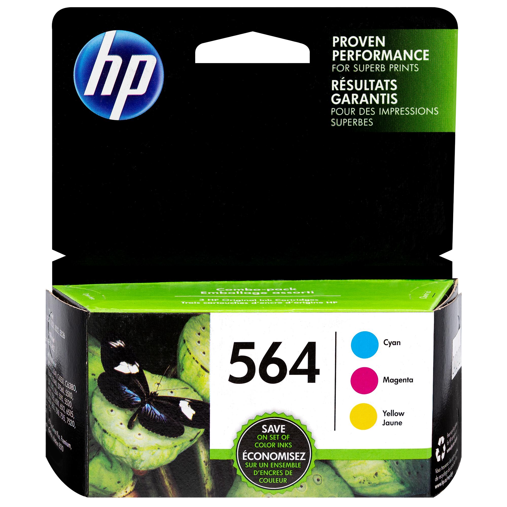 N9H57FN | HP 564 | Original HP Ink Cartridges - Tri-Color
